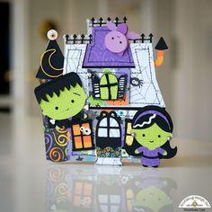 Doodlebug Design Inc Blog: Doodlebug Design Silhouette Cut Files: Spooky Cards by Courtney