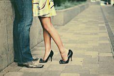 love her heel slightly off