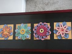 Nimmu's Creations: Quilled Frame