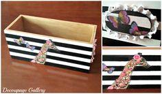 Pudełko  z żyrafą - Więcej na mojej stronie na fb - Decoupage Gallery