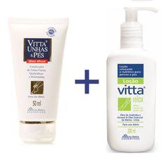 VITTA RELAX® + VITTA UNHAS & PÉS® Tenha os dois produtos com um valor especial !