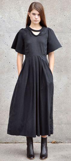 Samantha Pleet Black Vision Dress
