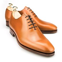 WHOLECUT OXFORD IN TANNED CALF | CARMINA