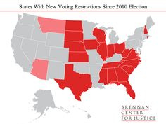 Map: 22 states have passed new voting restrictions over the past four years - The Washington Post Semitic Languages, Swing State, U.s. States, United States, Conservative Politics, Make It Work, Work Hard, Geography, The Past