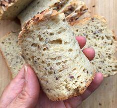 Gluten Free Snacks, Foods With Gluten, Gluten Free Baking, Dairy Free Recipes, Gourmet Recipes, Healthy Recipes, Gluten Free Homemade Bread, Healthy Gluten Free Bread Recipe, Best Gluten Free Bread