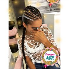 Baddie Hairstyles, Girl Hairstyles, Braided Cornrow Hairstyles, Q Hair, Curly Hair Styles, Natural Hair Styles, Braids For Kids, Braids For Black Hair, Hair Shows
