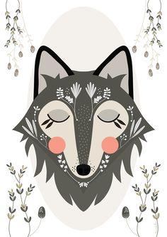 Blushing Fox   Mundobu: Illustrations