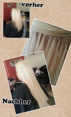 Haarextensions , Haarverlängerung