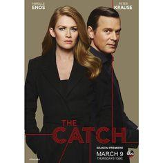 #TheCatch 2   Premiere Americana 9 Marzo su #ABC! #tgit #thecatchit @iammireilleenos #shondaland #fanmade