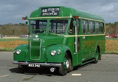 Former London Country GS42, MXX342, one of 84 Guys with ECW B26F bodies for use on low traffic country area routes, entered service in Novem...