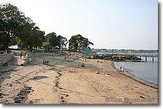 Beach at Salem Willows Park, Salem MA