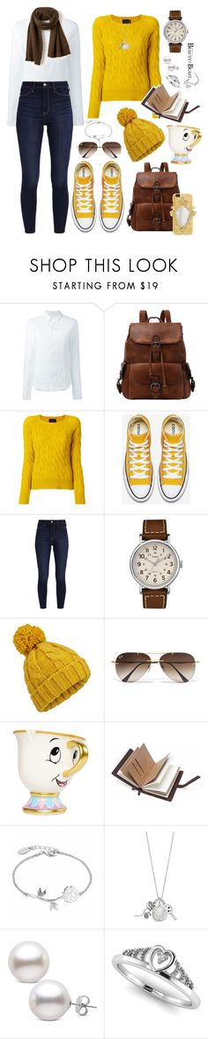 """""""67# Lady Bella."""" by claudiacalero16 ❤ liked on Polyvore featuring A.F. Vandevorst, Roberto Collina, Hollister Co., Timex, Miss Selfridge, Ray-Ban, Disney and Lacoste"""