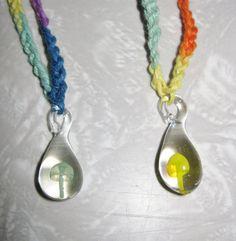 Mushroom HEMP Necklaces