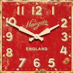 vintage clock...