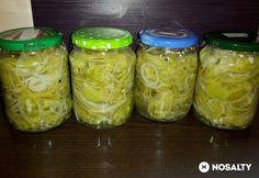 Paradicsom savanyúság Pickles, Cucumber, Mason Jars, Kamra, Food, Decor, Canning, Decoration, Essen
