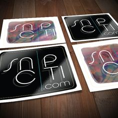 SnipCiti 60x60mm Gloss Paper Stickers. Order now! #AllStickerPrinting #Stickers #StickerPrinting