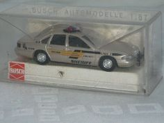 Busch H0 47604 CHEVROLET CAPRICE US Sheriff OVP Police HO 1:87 box