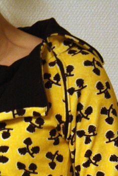 Sandran tekemää: Keltainen käpyseni