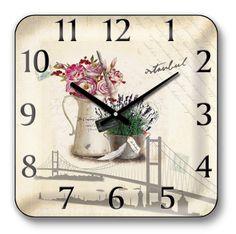 Dekoratif Panoroma İstanbul Yeni Model Duvar Saati : Dekoratif Duvar Saati - Duvar Saati | Masa Saati | Kol Saati | Fiyatları ve Modelleri