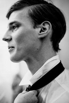 mannequin-homme: Tim Meiresone Les Hommes FW14 / ph. Morgan O'Donovan