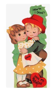 """Vintage Valentine """"How'm I Doin'"""""""
