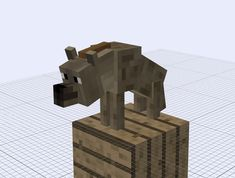 Minecraft (c) Mojang Model (c) My mob type: aggressive health point: 15 spawn: grassy plains, desert, savanna dmg: 3 (easy) (normal) (hard) drop. My Minecraft Animals: spotted hyena Minecraft Mobs, Minecraft Plans, Minecraft Creations, Minecraft Projects, Minecraft Houses, Wolf Plush, Aliens, Crafting Recipes, Pokemon