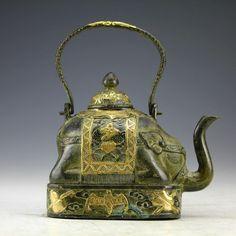 antique elephant teapot   Dünyanın çayını pişiren çaydanlıklar   designmixer
