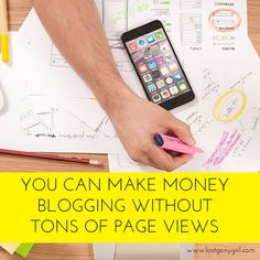 You Can Make Money Blogging Without Tons of Page Views: My Very First Blog Income Report | blogging tips