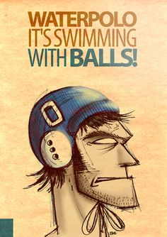 Water Polo SWIMMING WITH BALLS LR