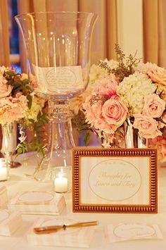 wedding guestbook table idea; photo: Liz Banfield