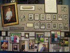 Graduation picture board