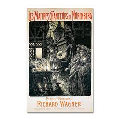 Richard Wagner 'The Mastersingers of Nuremberg' Art