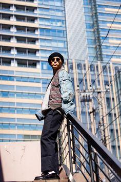 what a fashion icon Boy Fashion, Style Icons, Coat, Jackets, Fashion For Boys, Down Jackets, Jacket, Guy Fashion, Baby Boy Fashion