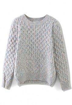 Fair Isle Classic Knit Sweater