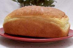A light and heavenly bread that has a wonderful taste and a soft fluffy texture. Make sure you grease your pans and you will be rewarded with 2 delightful loaves of bread. Bread Maker Recipes, My Recipes, Cooking Recipes, Favorite Recipes, Angel Bread, Our Daily Bread, Low Carb Bread, How To Make Bread, Bread Baking