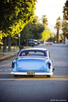 Rob Fortier's Chevy, shot by Mark Kawakami