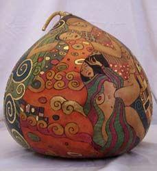 Jennifer Zingg-gourd art