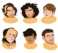"kianart: "" gAME GRUMPS STICKERS you can buy them soon at my storenvy shop ! """