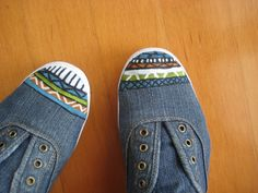 Aztec Inspired Shoes