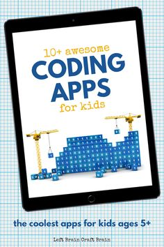 You will love these awesome coding apps for kids. They incorporate valuable programming skills, problem solving, and an introduction to computer science. Kids will learn to code while having fun playing video games! Learning Websites For Kids, Teaching Kids, Kids Learning, Stem Teaching, Robots For Kids, Science For Kids, Games For Kids, Programming For Kids, Computer Programming