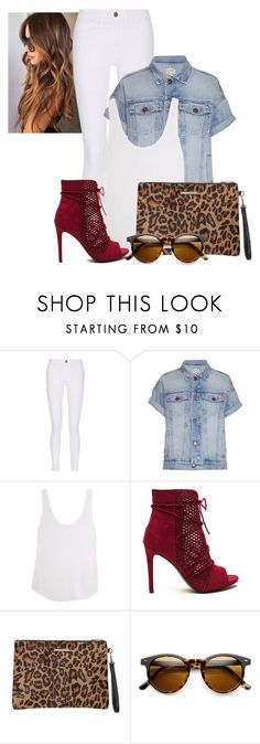 """""""2016/893"""" by dimceandovski ❤ liked on Polyvore featuring M.i.h Jeans, Current/Elliott, Frame Denim and Dorothy Perkins"""