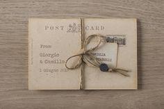 titanic-partecipazione-vintage-con-fiocco-01-0670 Place Cards, Place Card Holders, Vintage, Vintage Comics