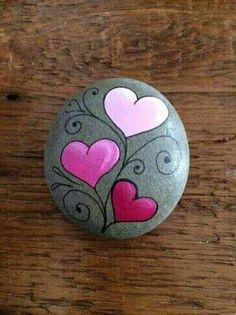 Ideas Pebble Art Diy Design Ideas For 2019 Rock Painting Patterns, Rock Painting Ideas Easy, Rock Painting Designs, Paint Designs, Art Patterns, Pebble Painting, Pebble Art, Stone Painting, Diy Painting