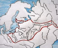 """Maximum extent of the Baltic culture during the Bronze Age"""