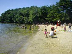 Lake Cochituate State Park Beach Natick,MA