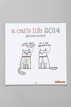 a cat's life 2014 calendar