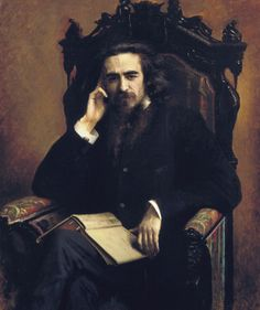 """Vladimir Solovyov by Ivan Kramskoy, 1885 And that's my favorite Solovyov, key Russian philosopher, writer and theologian. He was close friend of Feodor Dostoevsky, and his life and views became sources for the famous characters from """"The Brothers Karamazov"""" - Alyosha and Ivan. Solovyov also was the founder of the """"spiritual renaissance"""" of the Silver Age. He influenced on Andrei Beliy, Alexander Block, Nicolas Berdyaev and so on."""