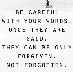 Speak words of love and encouragment