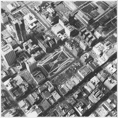 Edward Ruscha 'Pershing Square Underground Lot, 5th & Hill', 1967, printed 1999 © Edward Ruscha