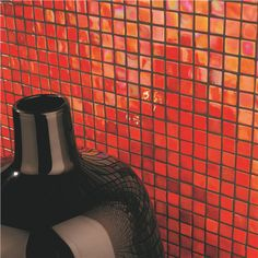These attention grabbing Tequila Sunrise orange mosaics are as striking as their name - install covering an entire wall for a shop stopping finish or create a feature area for a pop of colour.